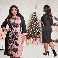 f1c907abc69 fashionable elegant women dresses big size NEW 2016 plus size women clothing  L-6xl dress