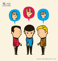 Star Trek Rock Paper... Live Long and Prosper??