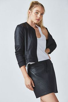 d7fb5792b95 We styled our quilted fleece zip-up with a classic tank