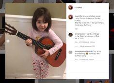 """8-vuotiaan+tytön+laulu+peräaukoista+on+jättihitti+–+""""Ehkä+siellä+on+astronautteja,+ehkä+alieneita"""" Donald Trump, The Cure, Music Instruments, Guitar, Donald Tramp, Donald Trumph, Musical Instruments, Guitars"""