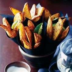 Jamaican spiced potato wedges Recipe | delicious. Magazine free recipes