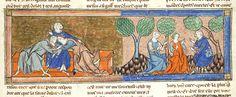 Lancelot du Lac, MS M.805 fol. 67r - Images from Medieval and Renaissance Manuscripts - The Morgan Library & Museum
