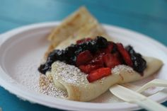 Flip Happy Crepes... the first food trailer I visited in Austin & a must-visit if you're visiting