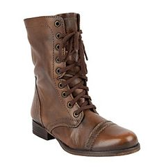 """I think if i had the money, I would bu these is an instant.  Steve Madden® """"Troopa"""" Lace-up Army Boot"""