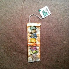 363 days of tea. Day 172. #recycled #teabag #art #flavoroftheweek www.rubysilvious.com