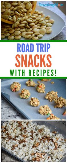 On-the-go snacks for busy families. Easy recipes for road trip snacks. Packing s… On the go snacks for busy families. Simple recipes for road trip snacks. Pack snacks for a road trip. Best Road Trip Snacks, Vacation Snacks, Road Trip Food, Travel Snacks, Vacation Ideas, Vacation Pics, Car Trip Snacks, Road Trip Meals, Vacation Games