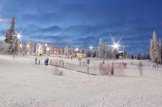 Finnish wintertime at Ruka