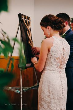 Cord of Three Strands / Wedding Braid / Unity by LettersToJeremiah