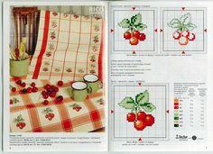Cherry Cross Stitch graph... #Cherry #CrossStitch