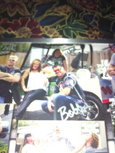 Thanks Amy,Bobby,Ronnie,and Johnny For Signing My Picture