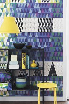 Pythagoras Wallpaper by Scandinavian Designers - Sven Markelius
