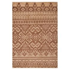 Southwestern-style rug with tribal striping. Loomed in Turkey.  Product: RugConstruction Material: Polypropylene...
