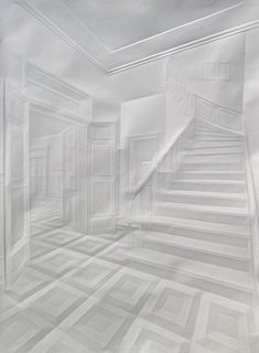 Paper Art - 100 Extraordinary Examples of Paper Art | Webdesigner Depot  Way cool to use embossing on white only.