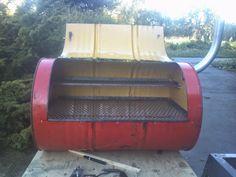 DIY Oil drum BBQ