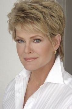 women over 50 short haircuts | ... full article about quot;Short Shag Haircut For Women Over 50 With