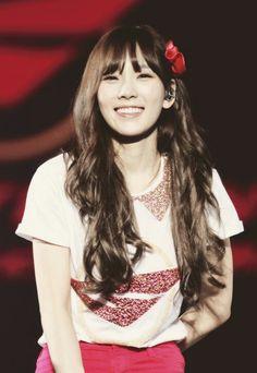 Taeng #SNSD #Taeyeon smile