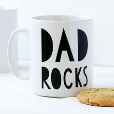 Dad Rocks Mug  Styli