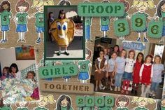 Girl Scout Scrapbooking