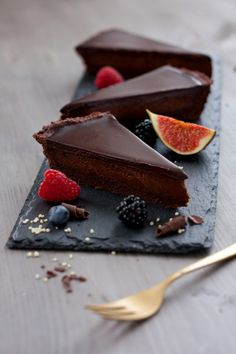 Chocolate Tart   Foodlovin'