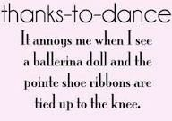 @Grace Anne Johnson hahahaha remember when u were judging that barbie doll ur sis had cuz she wasnt turning out and her pointe shoes were tide up to her knee?:'D