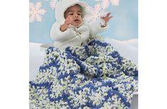Bernat® Baby Blanket and Pipsqueak™ Zig Zag Blanket