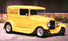 sedan delivery | 1929 Ford Sedan Delivery --Assembly work, final paint on chassis and ...