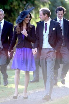 Kate Middleton Photos - Prince William and Kate Middleton at a Friend's Wedding - Zimbio