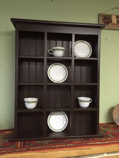 This is a great addition to your Kitchen or Dining Room. It is perfect for display collectable tea cups and saucers. It could be used to