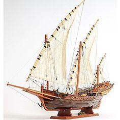 Old Modern Handicrafts Xebec Model Boat