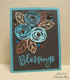 On my blog today.  #linktomybloginmyprofile #teals #browns #woodgrain #scribbleflowers #pinsightschallenge