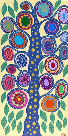 talavera tile- want to duplicate this on a canvas for Laila's playroom