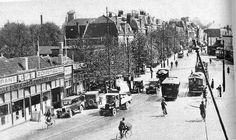 Stationsplein Leiden (jaartal: 1930 tot 1940) - Foto's SERC
