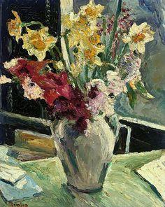 Ronald Ossory Dunlop, R.A. (1894-1973)  Spring flowers