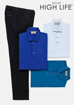 Colores brillantes con neutrales para un fin de semana elegante con este conjunto. #HighLife