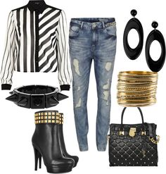 """SATURDAY SHOPPING STYLE"" by jmylesstylist on Polyvore"