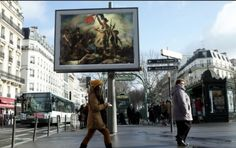 French Artist Replaces Billboard Ads with Classical Paintings