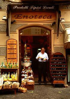 Enoteca, Siena, Italy