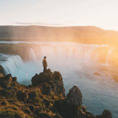 , These waterfalls are eternal 🌍 Travel Channel, Travel And Leisure, The Great Outdoors, Travel Destinations, Travel Europe, Places To See, Travel Inspiration, Travel Photography, Beautiful Places