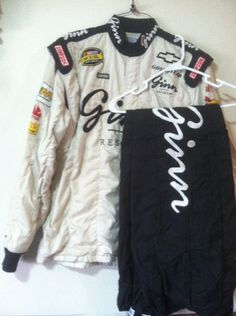 Ginn Resorts Sterlin Marlin Race Used Pit Crew Firesuit Nascar