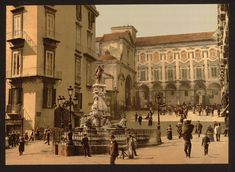 [Piazetta Monteoliveto Naples Italy]  (LOC) by The Library of Congress