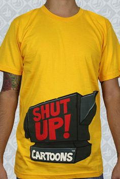 smosh shut up cartoons t-shirt