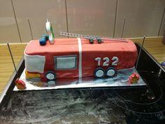 FeuerwehrTorte für den 2. Geburtstag meines Sohnes Toys, Cake, Desserts, My Son, Pies, Activity Toys, Tailgate Desserts, Deserts, Clearance Toys