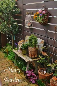 Narrow Garden, Garden Fencing, Decoration, Container Gardening, Planting Flowers, Backyard, Spring, Plants, Fences