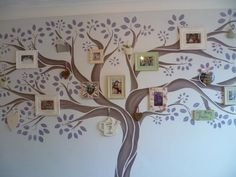 Family Tree- I would love to have something like this.