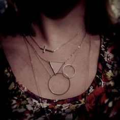 Layer necklace ! #isabellescabinet