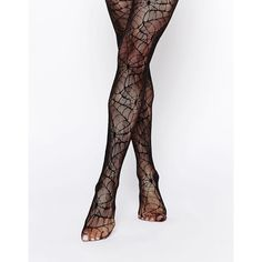 Leg Avenue Halloween Spider Lace Tights (9.780 CLP) ❤ liked on Polyvore featuring intimates, hosiery, tights, black, high waisted tights, leg avenue pantyhose, lace stockings, lace hosiery y black stockings