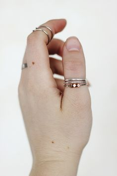 Make your own #DIY beaded rings.