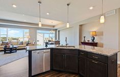 How would you like to host the holidays in this open Courtland II? New Home Communities, Love Your Home, New Homes For Sale, Building A House, Holidays, Kitchen, Home Decor, Holidays Events, Cooking