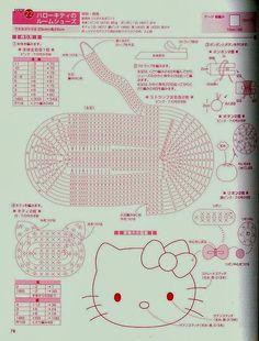 Como hacer Zapatillas de Crochet de la Hello Kitty Patron - Patrones Crochet