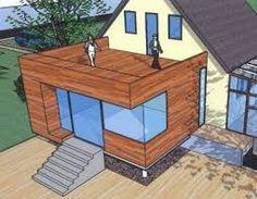 Billedresultat for holzanbau House Extension Design, Extension Designs, Renovation Facade, Glass Balcony, Basement House, Balcony Design, Decks And Porches, Outdoor Furniture Sets, Outdoor Decor